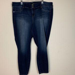Torrid- Dark Wash Straight Leg Jeans size 26R